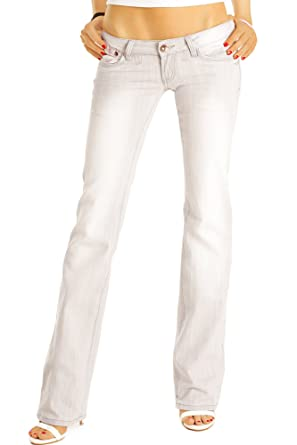 1dabed9dd3f994 BestyledBerlin Jeans Taille Basse Style Low Rise Jeans pour Femme j37agrau