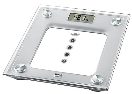 Tefal Atlantis - Báscula de baño, hasta 160 kg, graduación 100 gr, pantalla