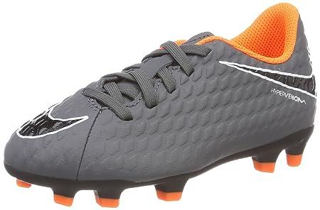 419c17171de Amazon.com  Nike Jr. Hypervenom Phantom 3 Club (FG) Firm-Ground Football  Boots