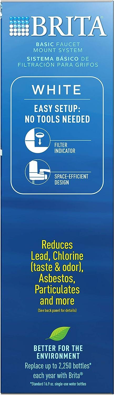 Brita 35214 Faucet Mount Water Filter