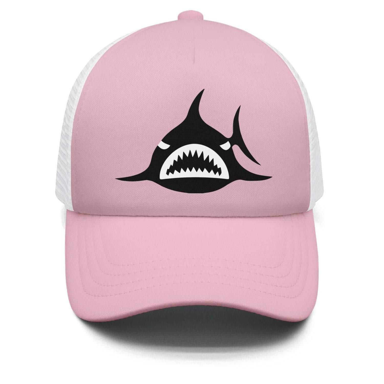 Amazon com: Boy's/Girl's Black Sharks Logo Baseball hat Crazy Sun