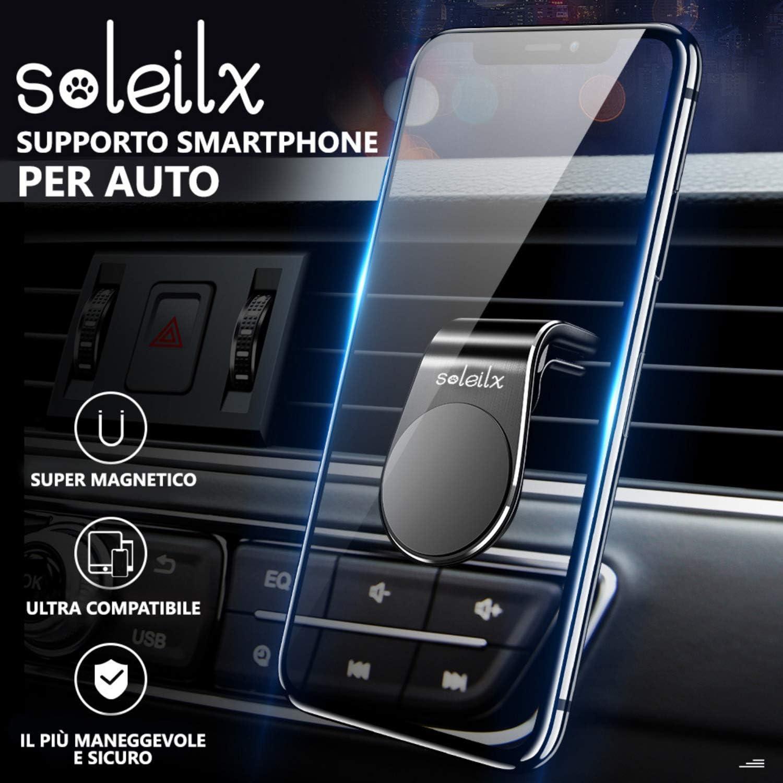 soleilx - Soporte magnético universal para teléfono móvil de coche ...