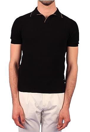 Gran Sasso - Polo para Hombre, Mod. Polo Negro 57157-20669 099 ...