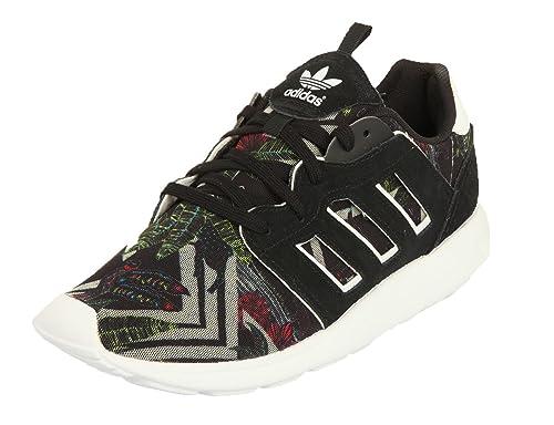 adidas Damas Sneakers ZX 500 2.0 W Negro/Blanco, Taille:42 2/3: Amazon.es: Zapatos y complementos