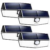 LITOM 120 LED Solar Lights Outdoor, upgraded