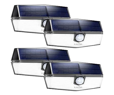 LITOM Solar Motion Lights Outdoor