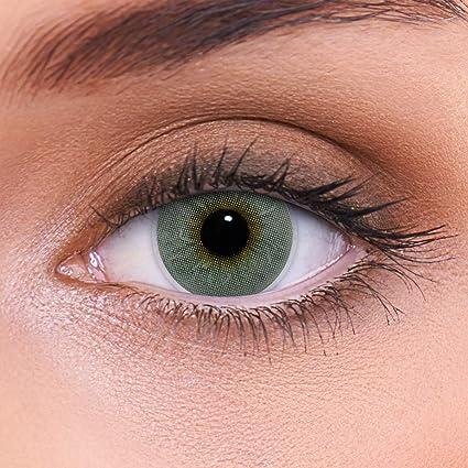 "11289c40eb Altas lentes de contacto grises naturales de color""Platinum Grey""  + contenedor de LENZOTICA"