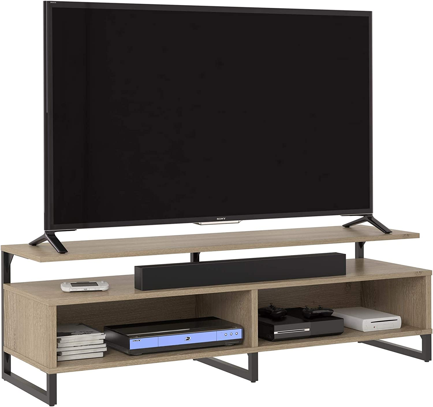 Ameriwood Home Whitby TV Stand, Golden Oak
