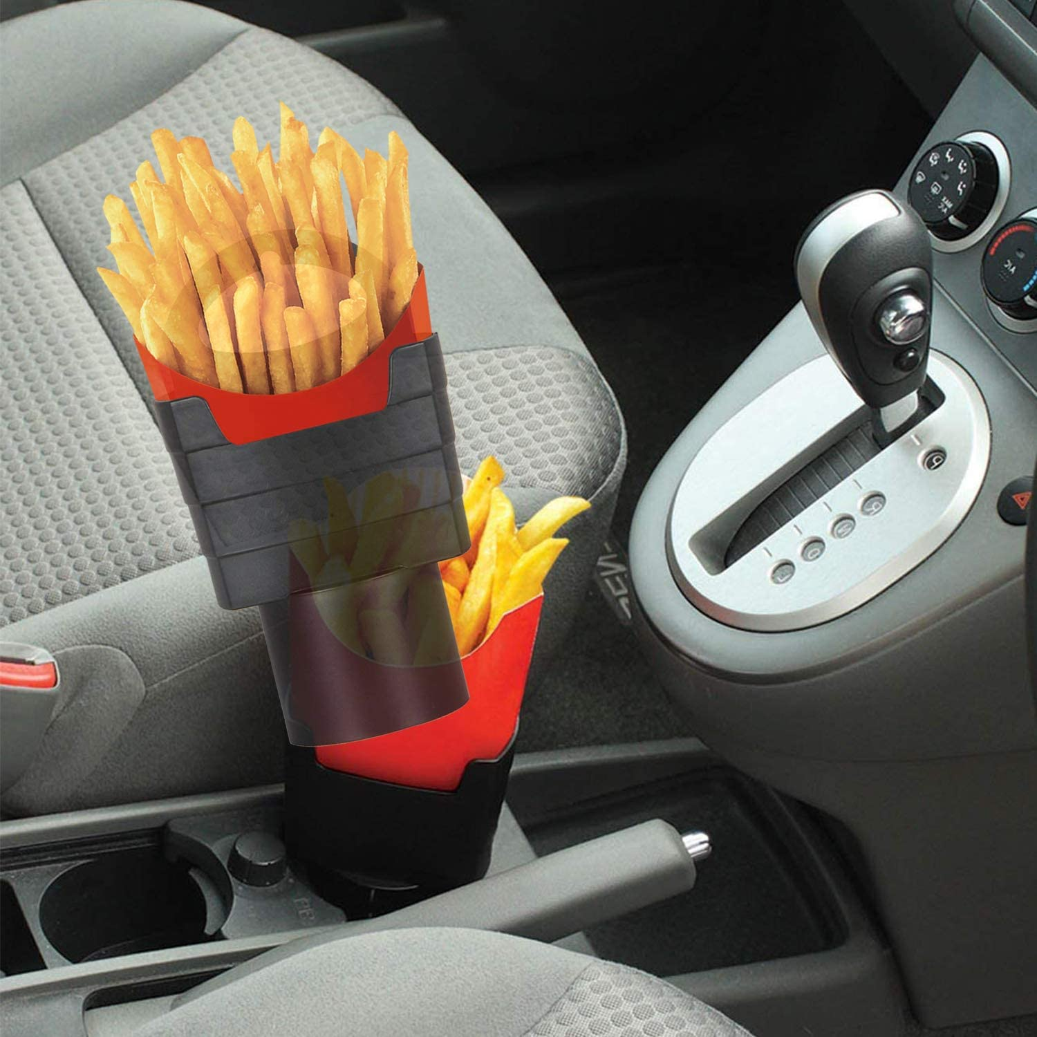 iSaddle French Fry Cup Holder