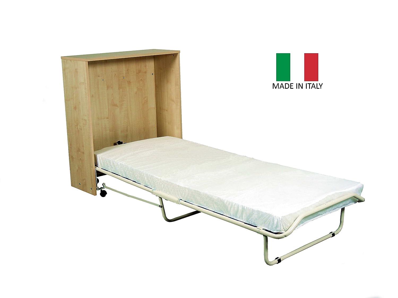 Letti A Scomparsa Fai Da Te : Mobile letto estraibile a scomparsa con rete e materasso