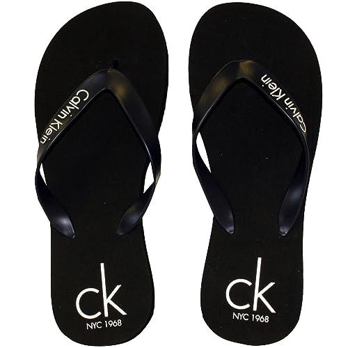 Calvin Klein CK NYC Flip Flops Black