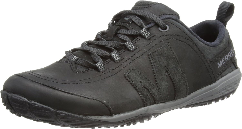 Merrell Herren Excursion Glove Smooth Sneakers, Schwarz