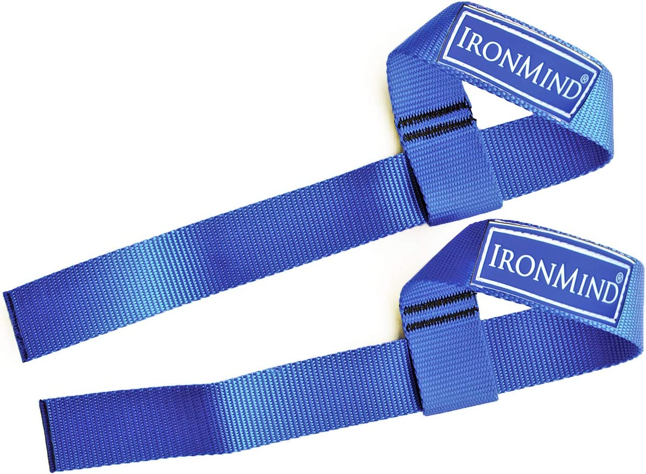 Amazon.com : IronMind Strong-Enough Lifting Straps (Pair) : Exercise Straps  : Sports & Outdoors