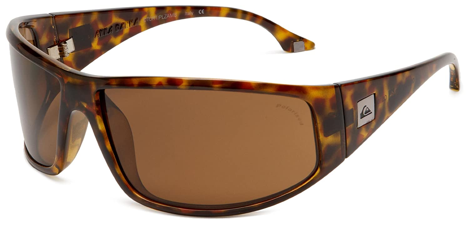 0318d216f2 Amazon.com  Quiksilver Mens Akka Dakka QEMP008 Polarized Wrap Sunglasses