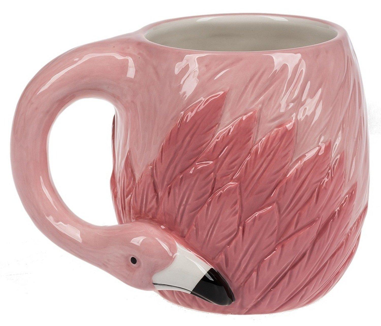 Midwest CBK 16 Ounce Ceramic Flamingo Mug