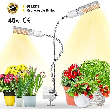 2x 100Watt 150 Led Wachsen Licht E27 Einstellbare Pflanzen Glühbirne Hydroponik