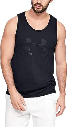 Under Armour SPORTSTYLE LOGO TANK7 T-Shirt For Menn - size Medium, color