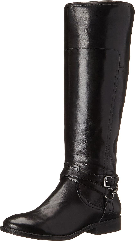 Alexis Wide-Calf Riding Boot