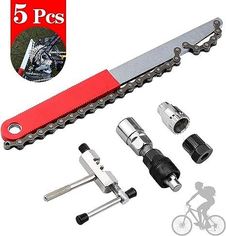 5 Piezas de Herramientas Profesionales de Reparación de Bicicletas ...