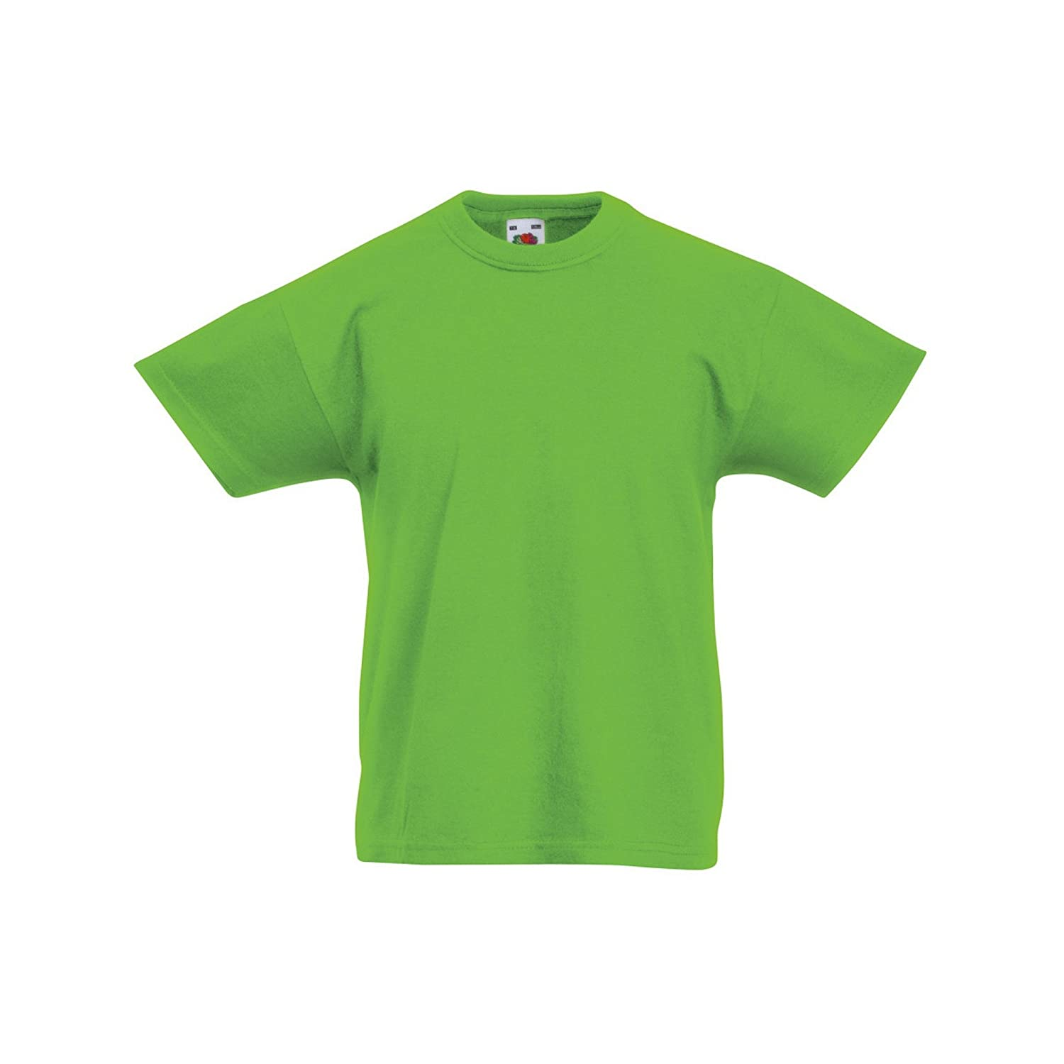 Fruit of the Loom Childrens//Kids Original Short Sleeve T-Shirt