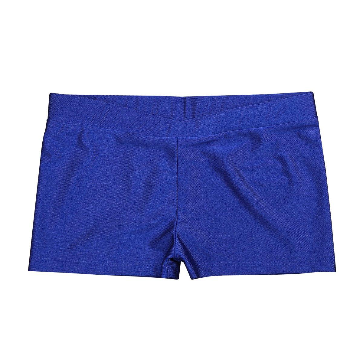 iEFiEL SHORTS ガールズ B07DF9NPKR 8 / 10|Blue V-front Blue V-front 43687