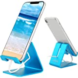 Desk Cell Phone Stand Holder Aluminum Phone Dock Cradle Compatible with Switch, All Android Smartphone, for iPhone 11…
