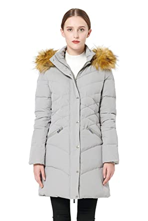 542efa49a8f4 Amazon.com  Orolay Women s Thickened Down Jacket Puffer Coat with ...