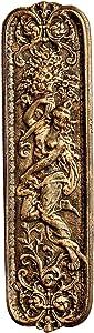 Design Toscano Maiden Iron Door Plate
