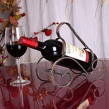 Amazoncom Cdybox Elegant Magic Metal Wire Wine Rack Single Bottle