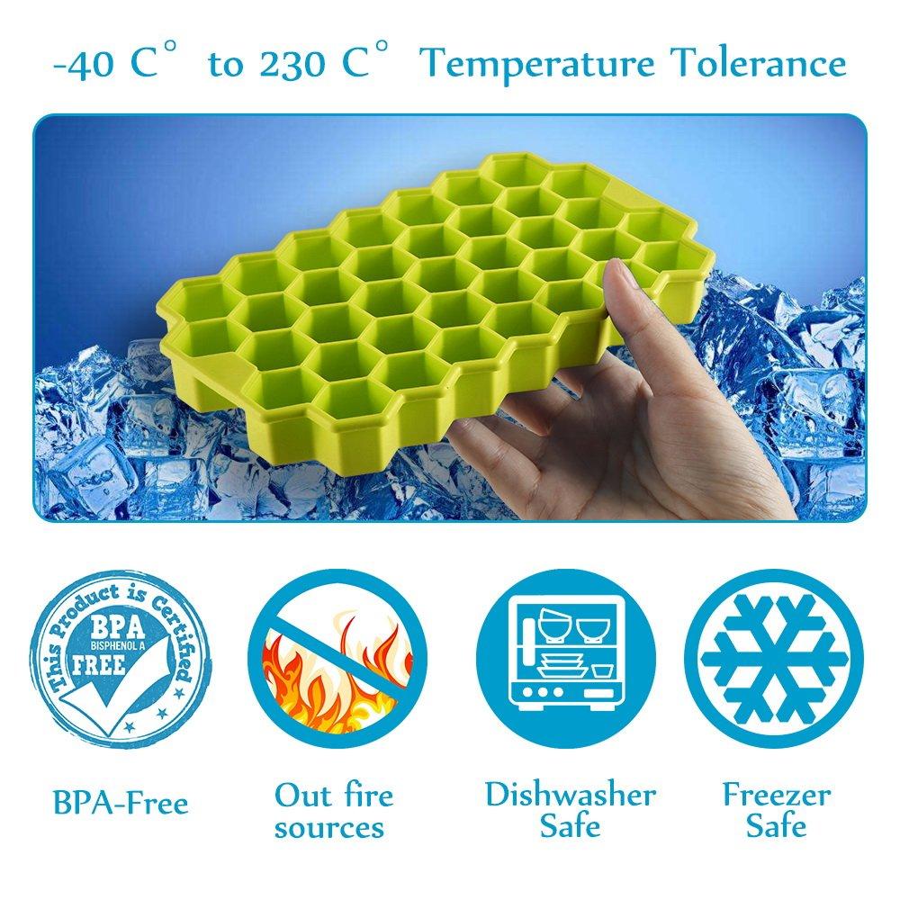 Stanbow 2 Unidades, Silicona Caja con Tapa de plástico, Resistente ...
