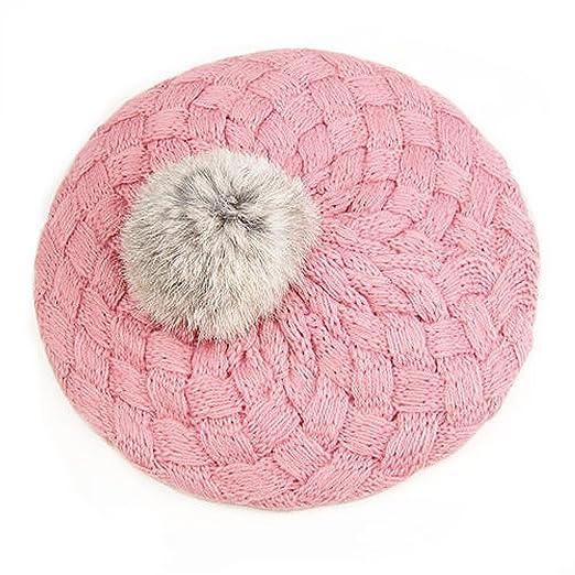 2 opinioni per SODIAL (R) Carino capello berretto a maglia d'inverno per infante ragazzi