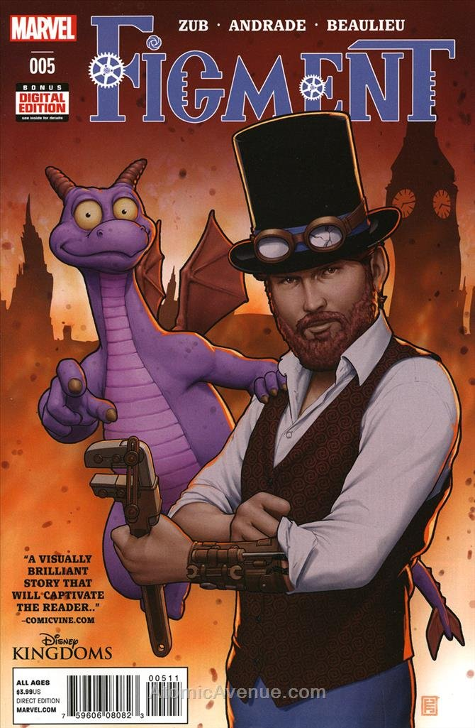 Figment #5 VF/NM ; Marvel comic book