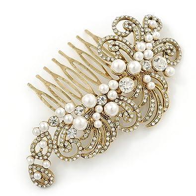 Avalaya Bridal//Wedding//Prom//Party Set of 6 Fuchsia Austrian Crystal Hair Pins in Silver Tone