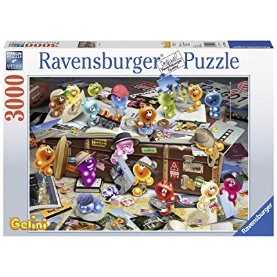 Ravensburger 17004 German Tourists - 3000 Piece Puzzle for Adults, Every Piece is Unique, Softclick Technology Means Pieces Fit Together Perfectly: Toys & Games