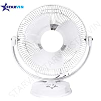 Starvin Happy Home || Laurels || All Purpose 3 in 1 Fan (Wall, Table and Ceiling || 12 Inches || ISI Approved Copper Motor || 1 Year Warranty || White K-39