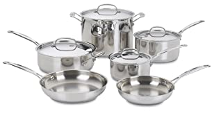 Cuisinart 77-10 Chef's Classic Stainless Steel Cookware