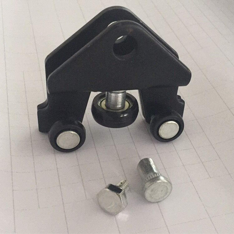 FairytaleMM - Soporte de rodillo de puerta corredera para Opel Vivaro (negro): Amazon.es: Bricolaje y herramientas