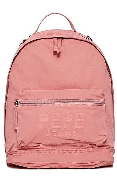 Pepe Jeans - MOCHILA GARY JUNIOR color: 322 DK OFF PINK talla: T UNICA: Amazon.es: Ropa y accesorios