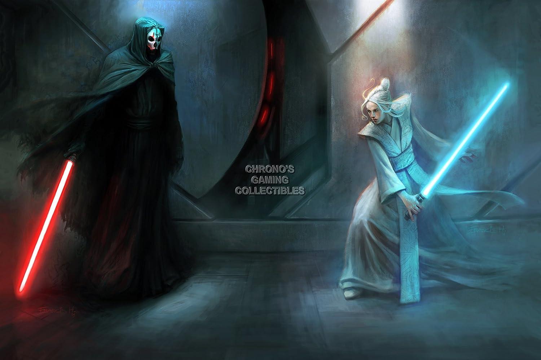 CGC enorme cartel - Star Wars caballeros de la antigua ...
