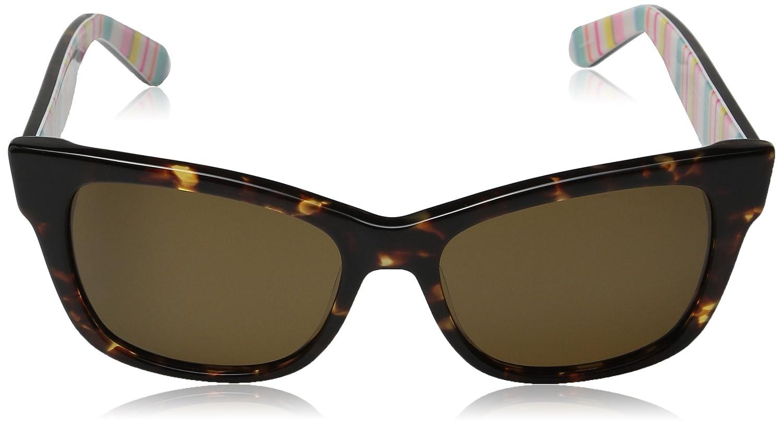 31239970e57 Kate Spade ALORA-P-S-RNL-VW-53 Ladies Alora-P S RNL VW Havana Polarized  Sunglasses  Amazon.co.uk  Clothing