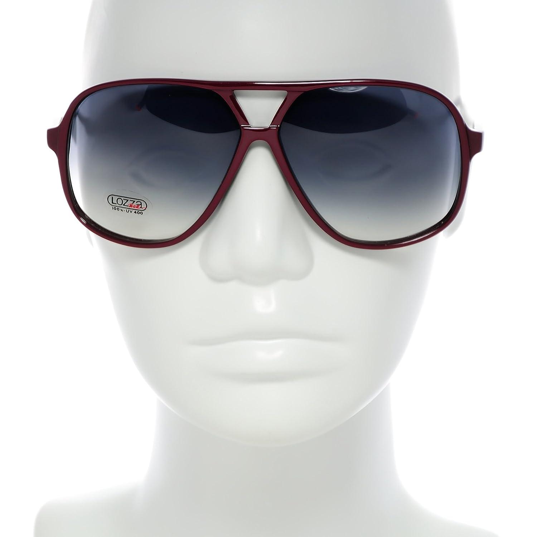 Amazon.com: Lozza anteojos de sol EE. UU. 6002 Col. 942 Gris ...