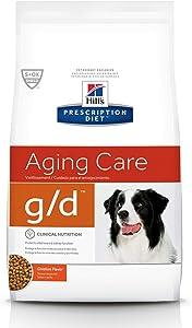 Hill's Prescription Diet g/d Aging Care Chicken Flavor Dry Dog Food, 8.5 lb bag