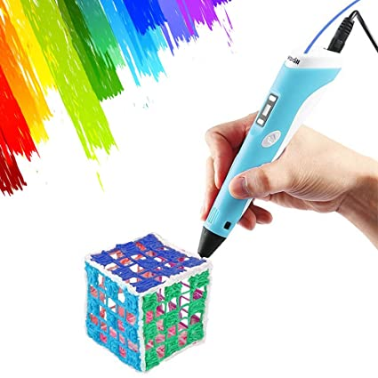 3D Pen,Vcall Upgraded 3D Printing Drawing Pen with LCD Screen for Doodle  Model Making