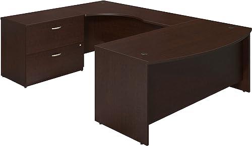 Deal of the week: Bush Business Furniture Series C Elite 72W x 36D Left Hand Bowfront U Station Desk Shell