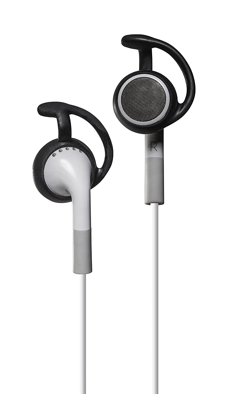 Skullcandy EarLocks for round earbuds JVC and other circular earbuds Compatible with iPhone 3G//4S