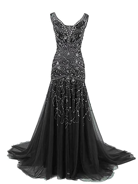 Uryouthstyle 2020 Crystals Mermaid Mother of The Bride Dresses Long Prom  Gowns