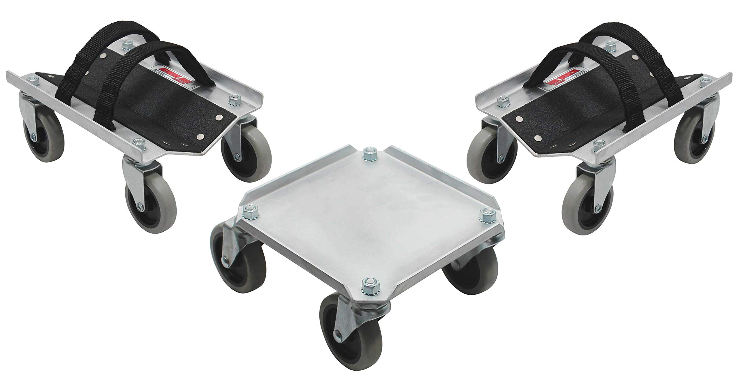 Extreme Max 5800.0225 V-Slide Snowmobile Dolly System - Aluminum by Extreme Max