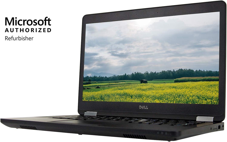 "Dell Latitude E5470 14"" HD Laptop, Core i5-6200U 2.3GHz, 16GB, 480GB Solid State Drive , Windows 10 Pro 64Bit, (Certified Refurbished)"