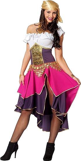 Wilbers Disfraz de Gitana para Mujer: Amazon.es: Juguetes y juegos