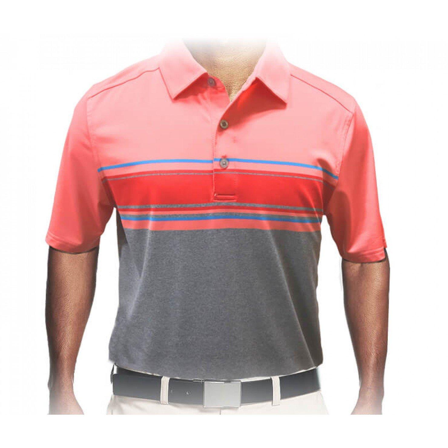 Skechers Go Golf Links Stripe Golf Polo Shirt Mens New Choose Color